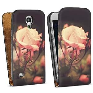 Diseño para Samsung Galaxy S4 Mini I9195 DesignTasche Downflip black - Beautiful Rose