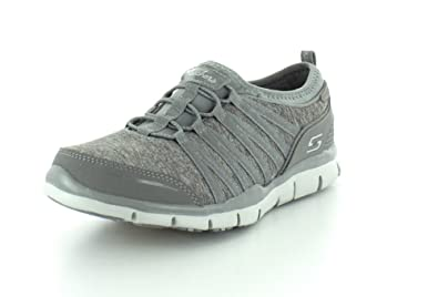 Skechers Gratis Shake It Off Womens Sneakers Gray/Pink 6 o52BVJg9is