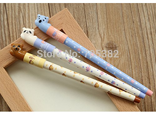 Gel Pen.cartoon Animal Print Pen for Writing,kawaii Stationery by Office & School Supplies YingYing (Image #1)