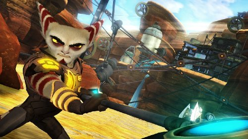 ratchet et clank a crack in time final scene