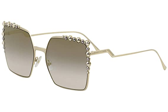 16beb19c8338c Amazon.com  Fendi Women s Oversized Square Sunglasses