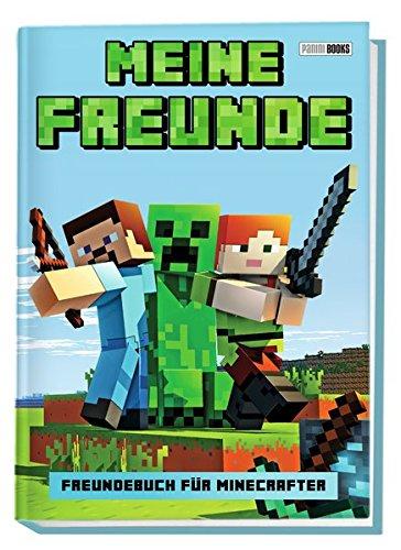 Meine Freunde - Freundebuch für Minecrafter