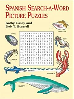 Spanish Search-a-Word Picture Puzzles (Dover Childrens Language Activity Books)