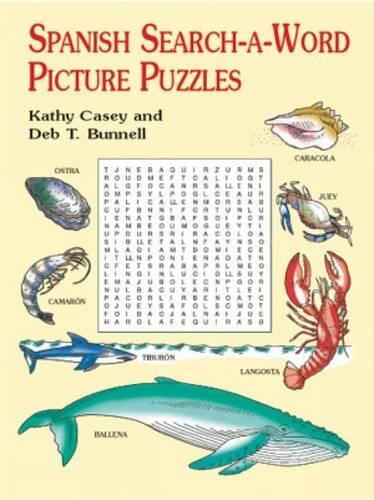 Spanish Search-a-Word Picture Puzzles (Dover Children's Language Activity Books) from Dover Publications