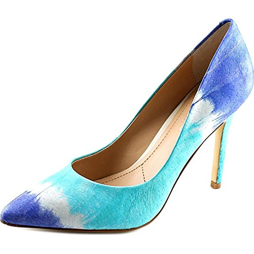 Charles by Charles David Womens Plateau Canvas Closed Toe, Blue, Size 6.0