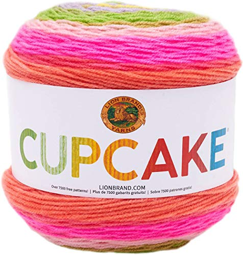 Lion Brand Yarn Cupcake Yarn, Spring Break