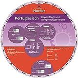 Portugiesisch – Regelmäßige und unregelmäßige Verben: Wheel – Portugiesisch – Regelmäßige und unregelmäßige Verben