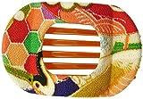 Annie Loto Kimono Hair Clip Accessories: Wide Clip (Terra Cotta Tile)