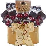 Art of Appreciation Gift Baskets Belgian Chocolate Fantasy Truffles Gift Basket