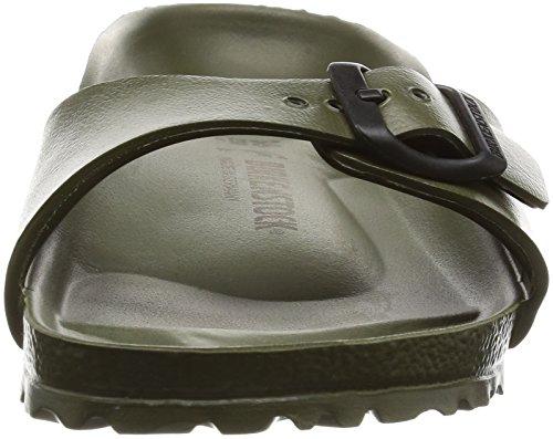 Birkenstock Madrid EVA Narrow Fit - Khaki 128253 (Green) Womens Sandals 38 EU by Birkenstock (Image #4)