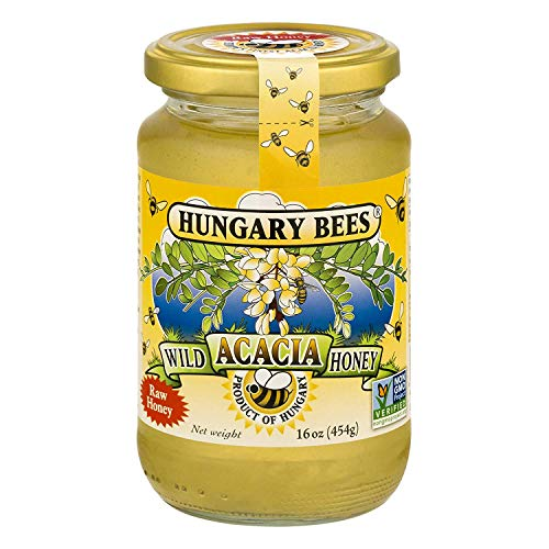 Hungary Bees Wild Acacia Honey 16 Ounce