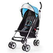 Summer Infant 3Dlite Convenience Stroller, Caribbean Blue
