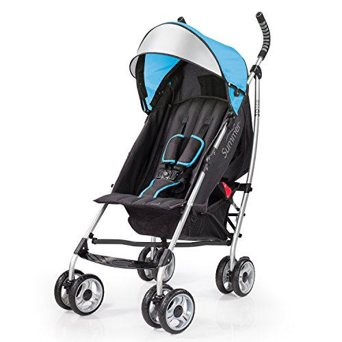 - Summer Infant 3Dlite Convenience Stroller, Caribbean Blue