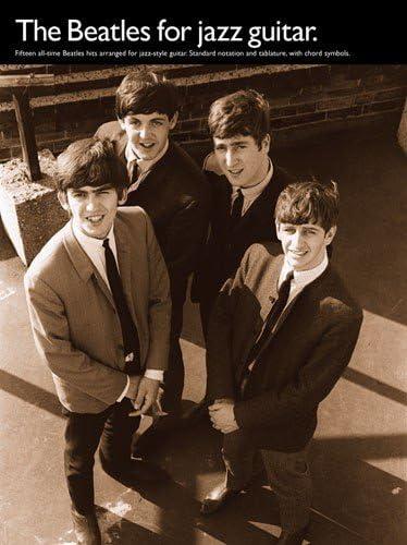 The Beatles For Jazz Guitar. Partituras para Acorde de Guitarra ...