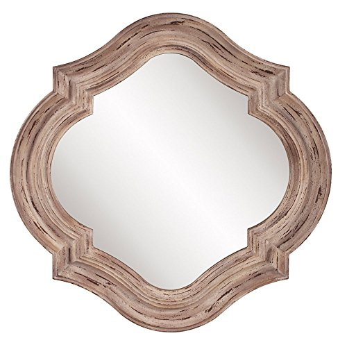 Howard Elliott 92117 Aubrey Mirror (Quatrefoil Mirror)