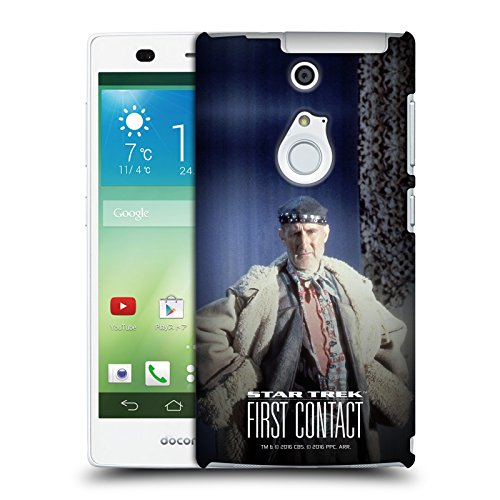 [Official Star Trek Full Costume Zefram Cochrane First Contact TNG Hard Back Case for Fujitsu Arrows NX] (Costumes F)