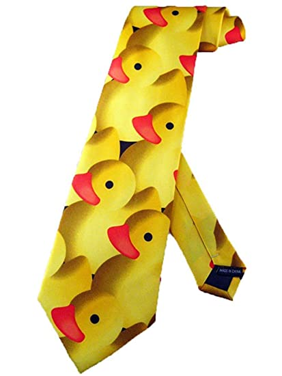Corbata Corbata De Goma Con Pato Ducky Para Hombre Corbata ...