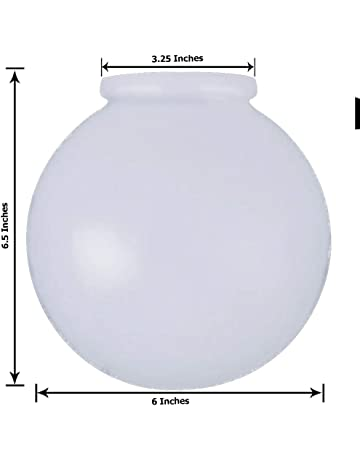 Fixture replacement globes & shades | Amazon com