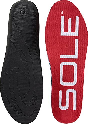 SOLE Unisex Active Medium Red 9 Women / 7 Men US