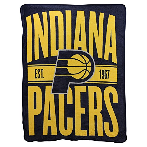 Northwest Throw - The Northwest Company NBA Clear Out Super Soft Plush Throw Blanket (Indiana Pacers)