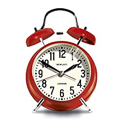 Newgate London Alarm Clock, Red