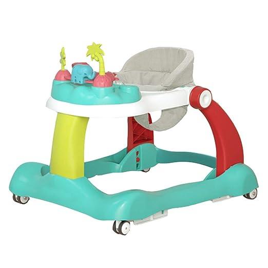 YUMEIGE Walkers - Andador de Coche para bebé, 4 en 1, Plegable ...