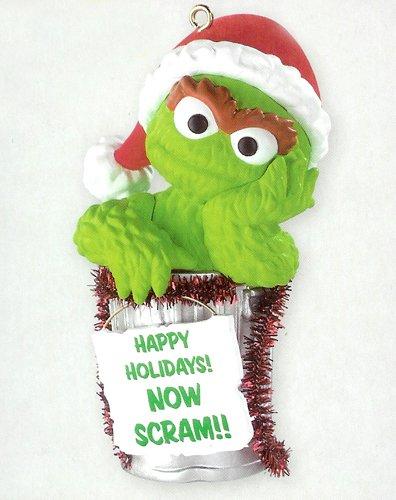 Carlton Cards Heirloom Sesame Street Oscar The Grouch Christmas ()