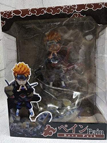Naruto Akatsuki-Pain Limited Edition PVC Anime Cartoon Character Game Model Statue Toy Collection Decorations Favorite Gifts by Anime Fan