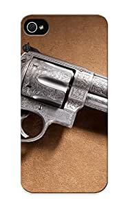 Honeyhoney Durable Defender Case For Iphone 5/5s Tpu Cover(pistols Guns Revolvers Smith And Wesson ) Best Gift Choice