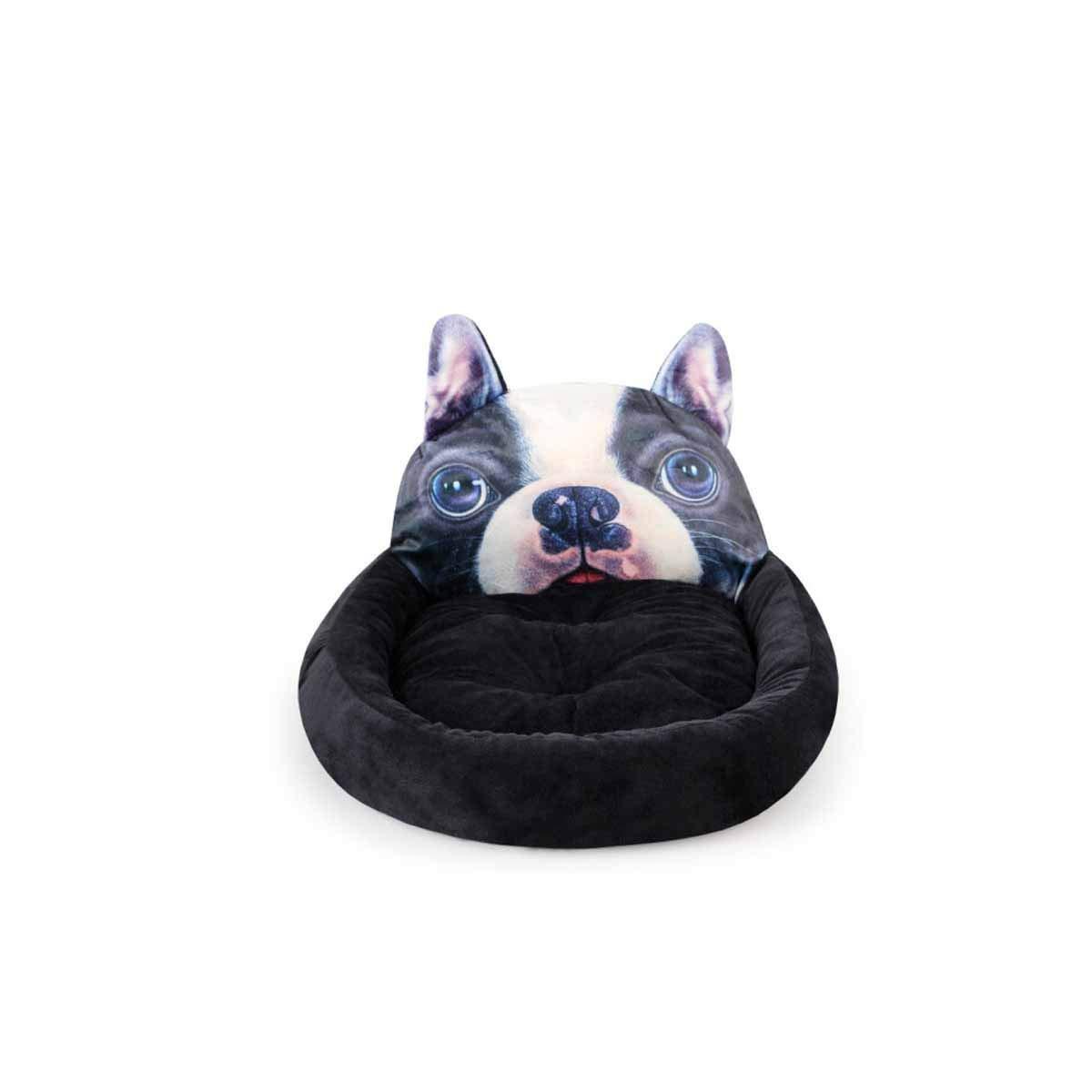 Kennel, Winter Warm Nest, Soft Teddy Bear Xiong Bomei Small Dog Pet Nest, Large Dog in Pet Mattress, Labrador Bullfighting Nest, Dog Mat, Four Season House (Size   L)