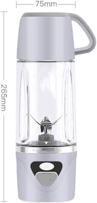 Exprimidor De Jugo Carga Hogar Impermeable, Máquina, Mini Frutas Hielo Picado Jugo Eléctrico Taza, Facil De Llevar (color: Rojo): Amazon.es: Hogar