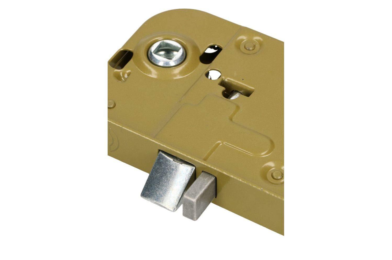 45mm DIN Links//Rechts Profilzylinder Universal Zimmert/ürschloss T/ürschloss Stahl Pulverbeschichtet Rostfrei Robust KOTARBAU Einsteckschloss 72