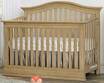Suite Bebe Dakota Lifetime 4 In 1 Crib  Driftwood