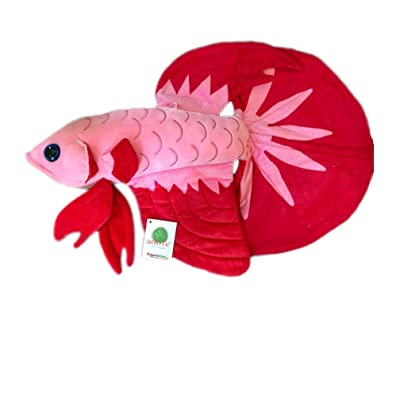 "ADORE 20"" Luna the Betta Fish Stuffed Animal Plush Toy: Toys & Games"