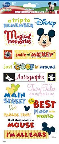 Sandy Lion Disney Themepark Phrases Clear STK ()