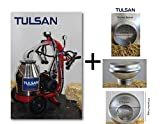 Tulsan, Mini Goat Milking Machine, portable electric milking system complete with wheels to ease milk transportation. Ideal for small and medium dairy farms. Milk 6 to 12 goats in 1 hour.