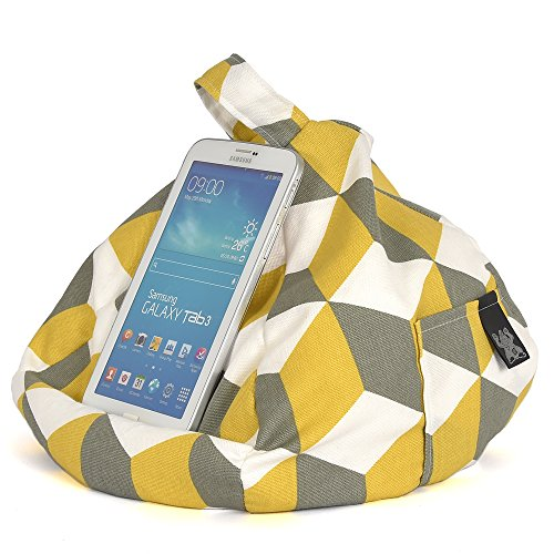 Any iPad Surface Hare Cube Bean Any Yellow All on for Stand Holder Tablet Bag Angle iBeani Devices amp; Cushion 6axqZwddn