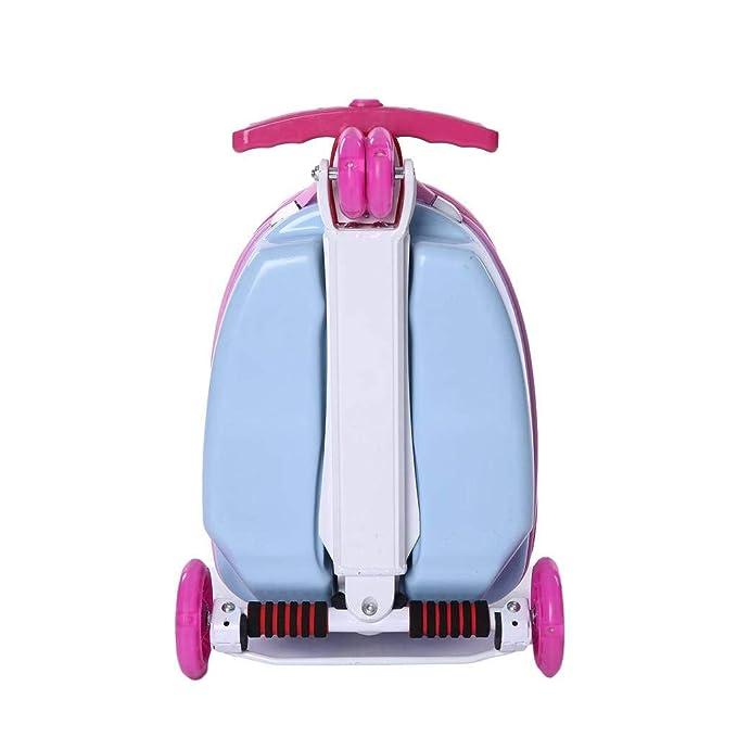 Amazon.com | SODKK Scooter with Luggage Suitcase, Kids ...