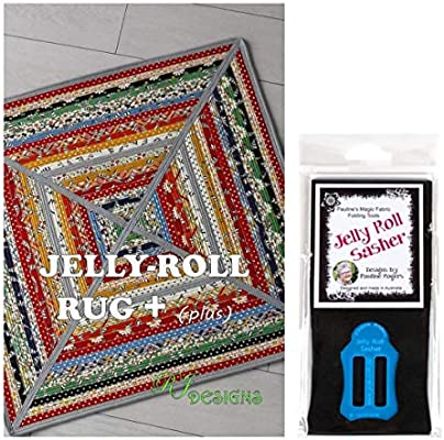 Blue PQW-JRS by Pauline/'s Quilting World Jelly Roll Sasher