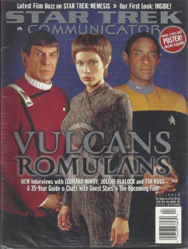 001 Star Trek Communicator Magazine Issue 137 Leonard Nimoy Jolene Blalock Tim Russ Spock T'Pol Tuvok Vulcans...
