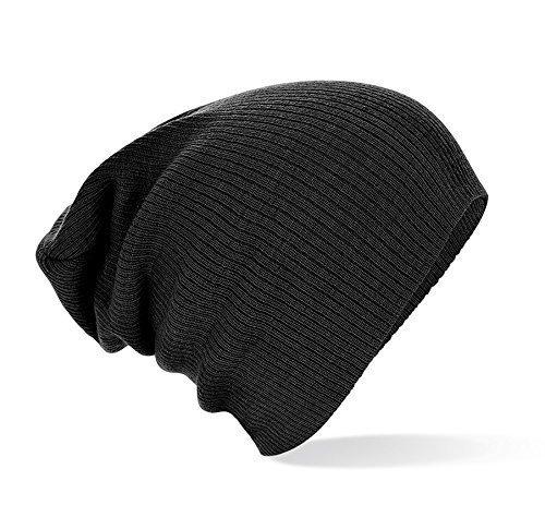 Bonnet Hommes Mind Slouch Femmes black Jersey Aggressive Slouch Unisexe Long fwZ7xEaq