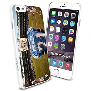 NFL TOMLINSON 21 San diego chargers Apple Smartphone iPhone 6 4.7 inch Case Cover Collector TPU Soft White Hard Cases by mcsharks