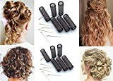 12 pc Vintage Style Hair Rollers BRUSH ROLLERS & 12