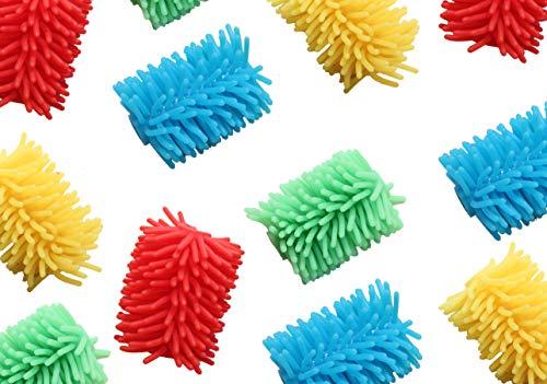 Curious Minds Busy Bags Bulk 12 Jumbo Squishy Soft Puffer Pencil Grip - Sensory School Supply or ()