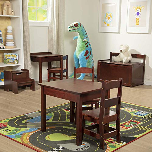Melissa & Doug Wooden Chair Pair - Espresso Children's Furniture