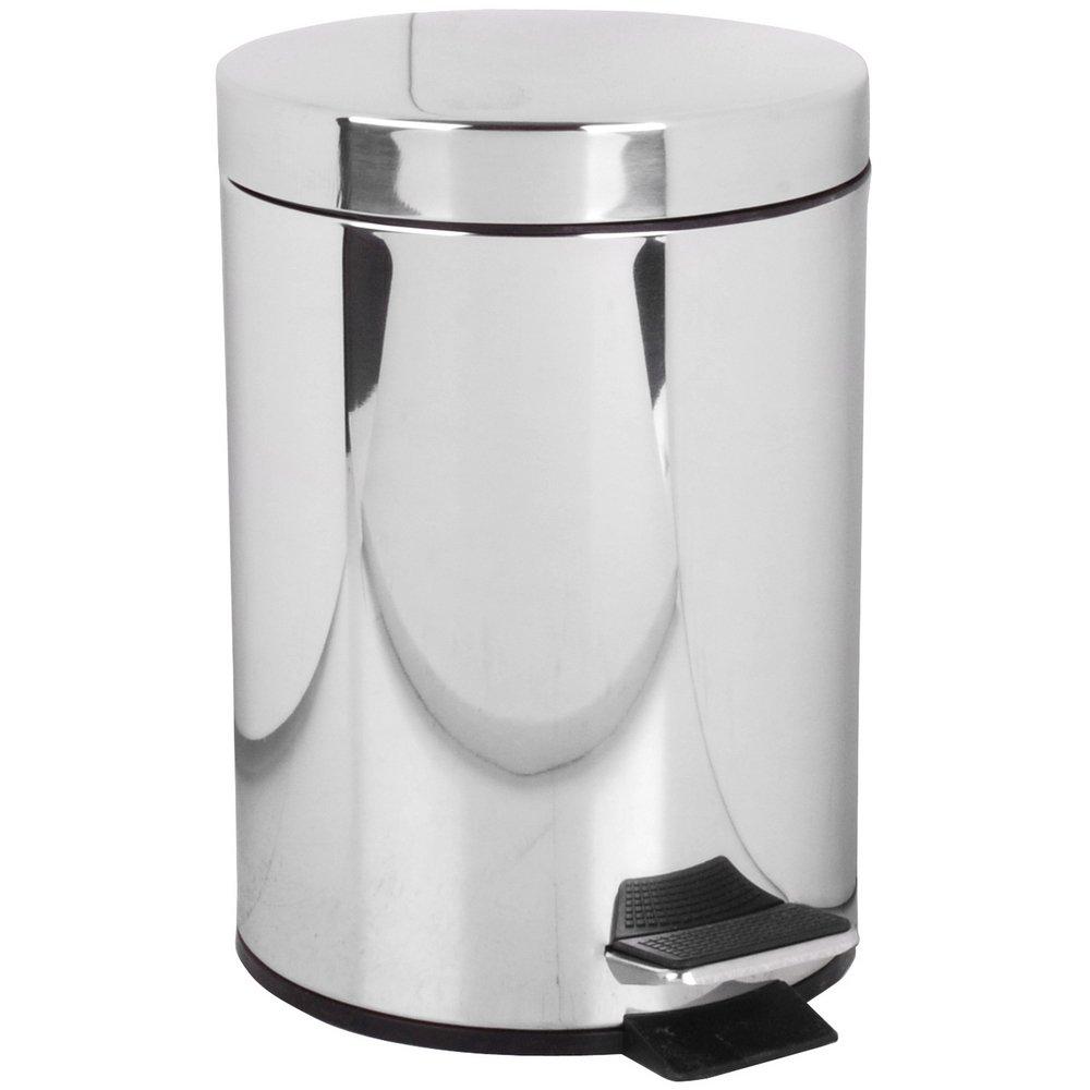 /Papelera de ba/ño Acero Inoxidable higi/énico WC 3L Promobo/