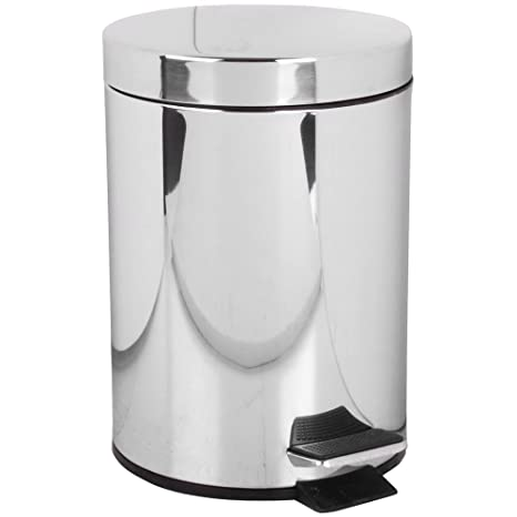 Promobo - Papelera de baño, Acero Inoxidable higiénico WC 3L ...