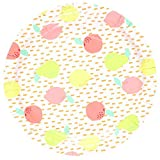 We Love Sundays Sorbet Fruits Paper Plates | 10-Pack | Great for Various Themed Parties