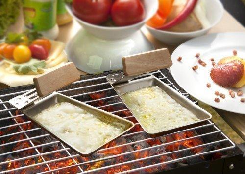 BBQ Devil Grillpfännchen Gustico mit abnehmbarem Griff 2er-Set