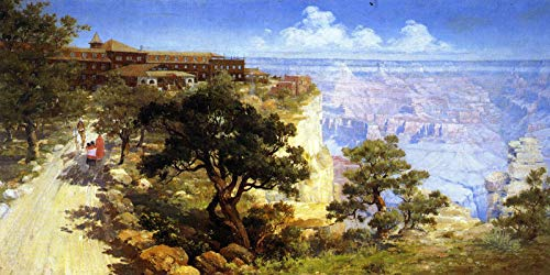 Louis Akin El Tovar Hotel, Grand Canyon 1907 Private Collection 30